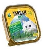 Yarrah Bio Wellness Корм конс. для кошек Паштет из индейки с алое вера 100 гр ZonaZoo.ru